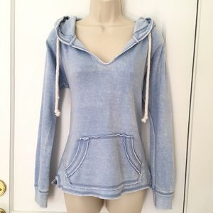 NEW Baby Blue Hoody Size S